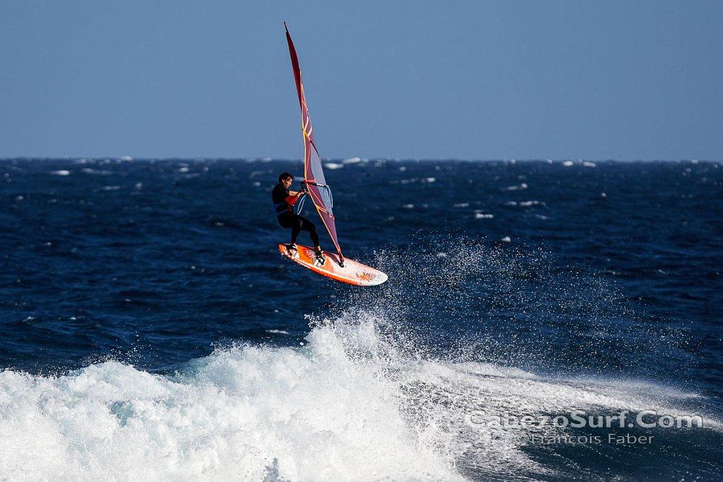 Windsurfing photo shooting at El Medano El Cabezo