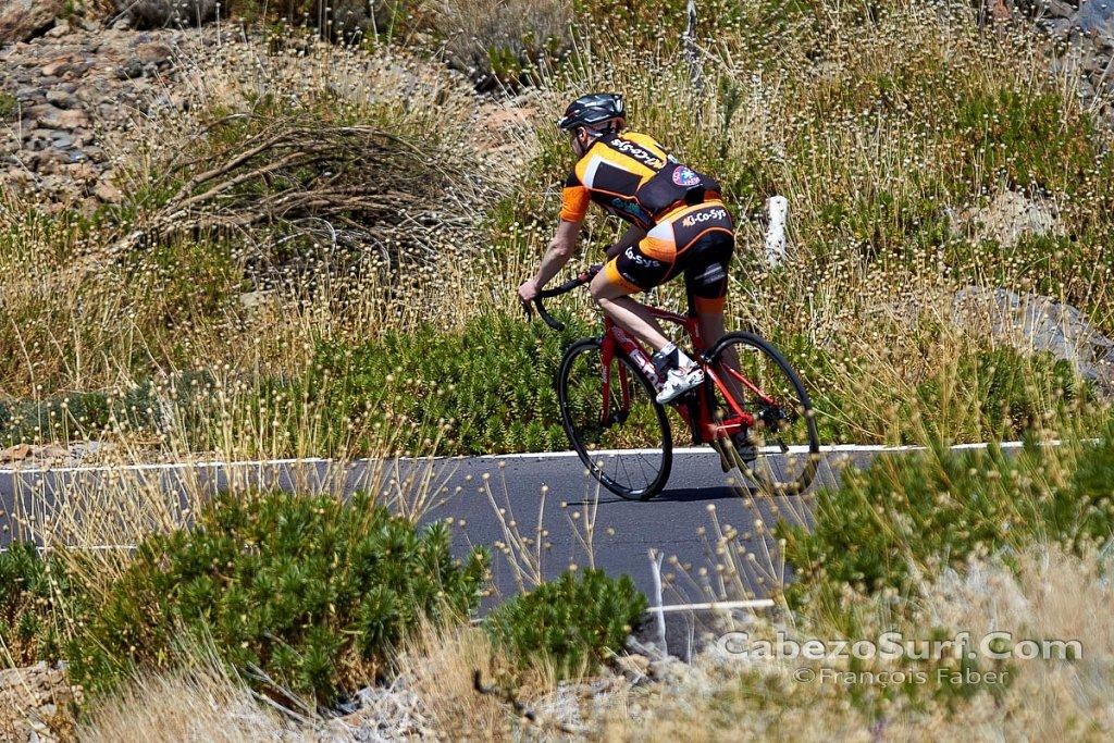 Cycling around El Teide