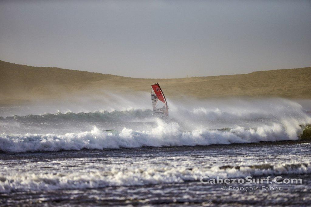 Sturm in El Medano Teneriffa