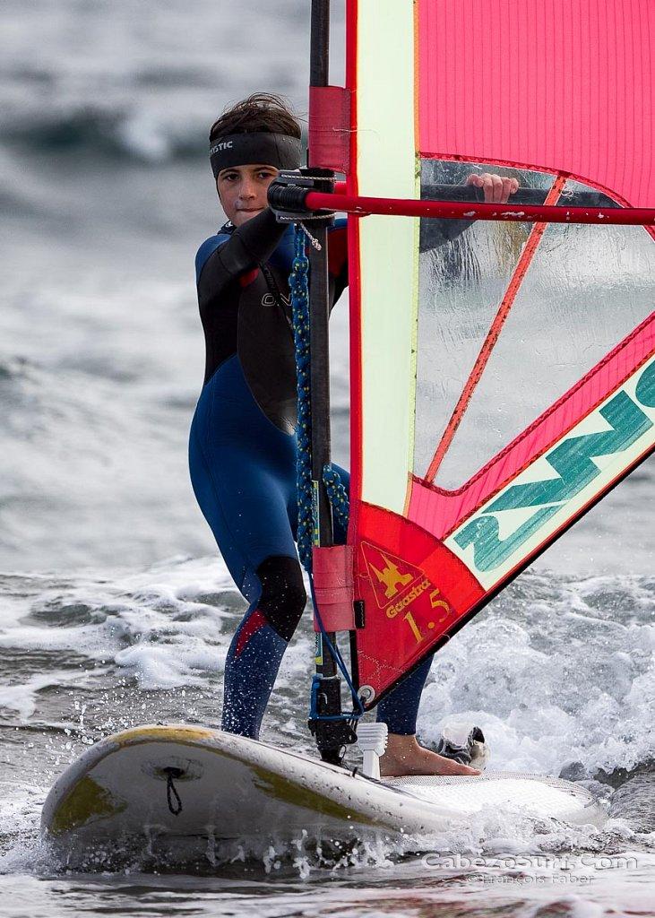 Go windurfing at El Medano beach